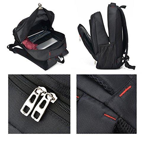 Viaggio zaino business computer studente borsa multifunzione impermeabile tempo libero leggero outdoor sport escursionismo alpinismo Camping Pack H50 x W32 x T17 cm