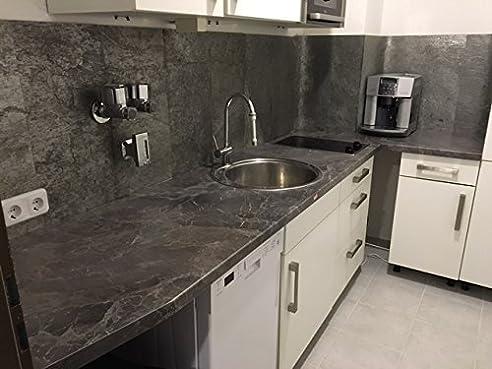 naturstein-tapete/steintapete/tapete aus schiefer als ... - Schiefer Wandverkleidung Wohnzimmer