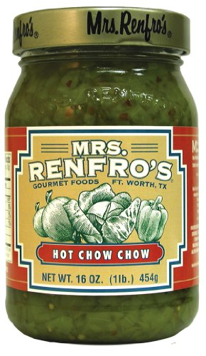 Mrs. Renfro's Hot Chow Chow, 16 Ounce