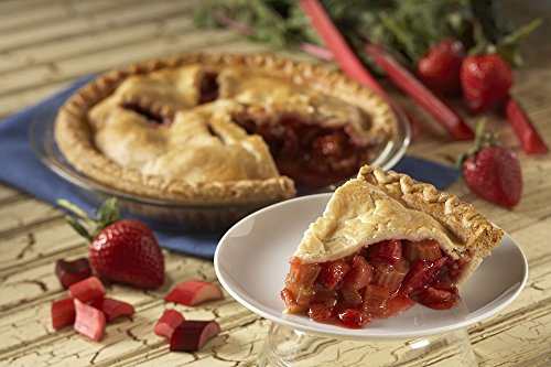strawberry rhubarb pie - 1