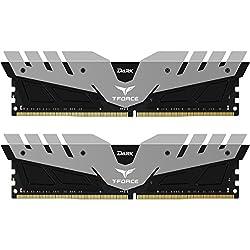 Team Dark 16GB (2 x 8GB) 288-Pin DDR4 SDRAM DDR4 2400 (PC4 19200) Memory (Desktop Memory) Model TDGED416G2400HC14DC01