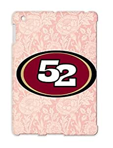 TPU 49 Sports Football Pink Willis FIFTY TWO NINE San Francisco Shirt For Ipad 3 Cover Case