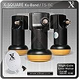 "X2- Full HD KU Single Universal LNB ""0.1 DB"" (Best Performance with High Gain & Low Noise)"