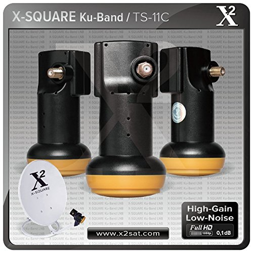 "X2- Full HD KU Single Universal LNB ""0.1 DB"" (Best Performance with High Gain & Low Noise)"