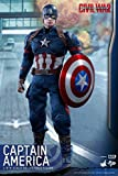 Hot Toys HT Movie Masterpiece Captain America Civil War 1/6th Scale Collectible Action Figures Avengers 3 Infinity War Marvel MMS350
