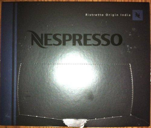 50 Nespresso Ristretto Origin India Coffee Cartridges Pro NEW
