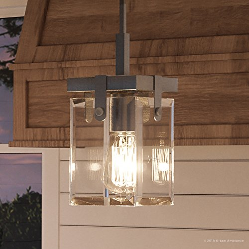 (Luxury Modern Farmhouse Pendant Light, Small Size: 11.875