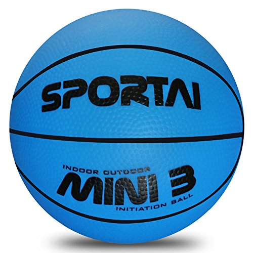 Small Blue Light Mini Basketball for Kids Indoor Basketball Game Kid's Toy in Playground or Pool from FunHut - 5 inch… - College Basketball Board Game