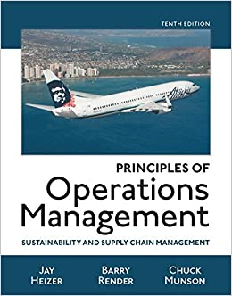 Principles Of Operations Management: Sustainability And Supply Chain  Management: Amazon.de: Jay Heizer, Barry Render, Chuck Munson:  Fremdsprachige Bücher