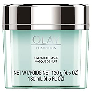 Olay Regenerist Luminous Overnight Facial Mask Gel Moisturizer, 4.5 oz Packaging may Vary