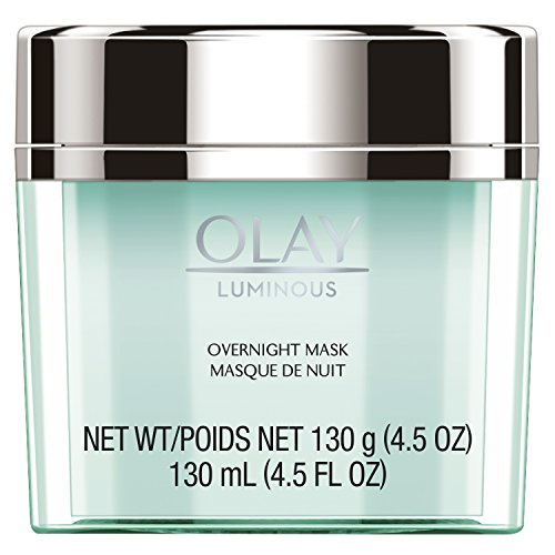Face Mask Gel by Olay Luminous, Overnight Facial Moisturizer for Brighter Skin, 4.5 Ounce (Packaging May Vary) Daily Luminous Face Moisturizer