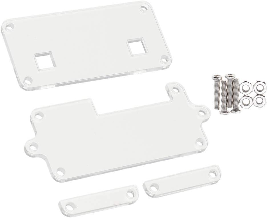 Carcasa de Plástico Acrílico Caja para Arduino Protección Evitar Daños Polvo y Arañazos: Amazon.es: Electrónica