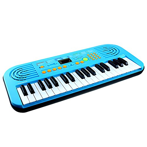 Educational Keyboard (M SANMERSEN Kids Piano,Sanmersen 37 Large Keys Multifunction Portable Electronic Organ Musical Keyboard for Children Boys Girls Early Learning Piano Educational Toy)