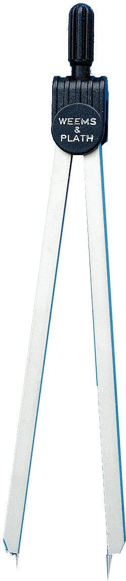 Weems & Plath Marine Navigation Fixed Points Divider (6-Inch) by Weems & Plath