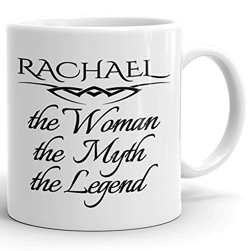 Best Personalized Womens Gift! The Woman the Myth the Legend - Coffee Mug Cup for Mom Girlfriend Wife Grandma Sister in the Morning or the Office - R Set 1
