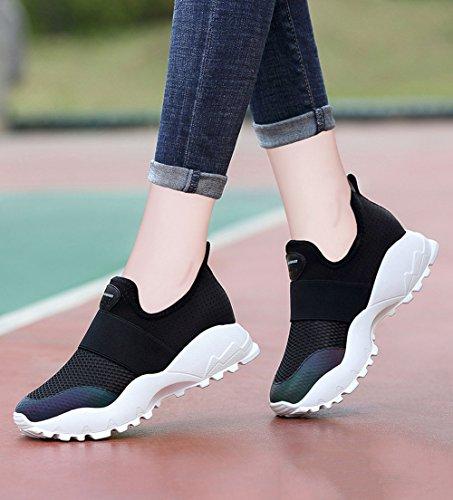los divierten de Mujeres de Malla Zapatos Ocasionales Que los la señoras Primavera y Las señoras Las Corre Zapatos de se Zapatillas de Las Respirable Las Verano Deporte la CAI Comodidad 2018 Caen nTBqOFCT
