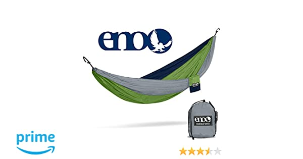 Eno Atlas XL suspension system for Unisexe Adventure Gear Hammock-Black Grey