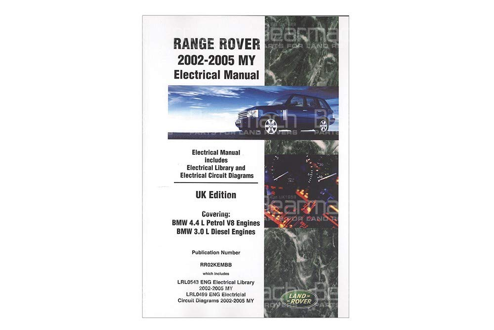 BEARMACH OEM - Electrical Manual - Range Rover L322 Part# LRL0543ENG by BEARMACH (Image #1)