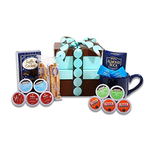 Delightful K-Cup Coffee Sampler Gift Basket