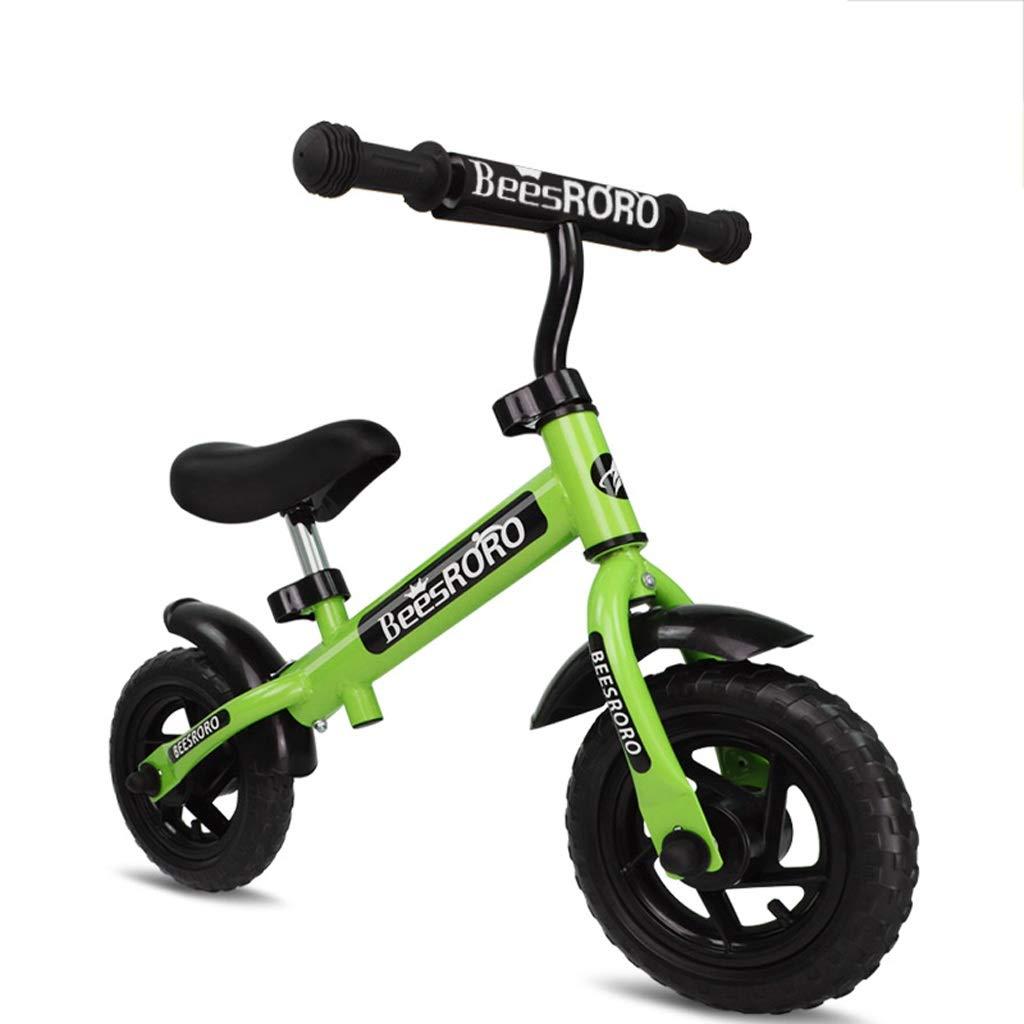 【オープニング 大放出セール】 子供と幼児のための超軽量バランスバイク Green - - ペダルスポーツトレーニング自転車年齢なし2,3,4,5,6 B07PRXH8T7 Green B07PRXH8T7, リビングデイ:7d2aeda4 --- senas.4x4.lt