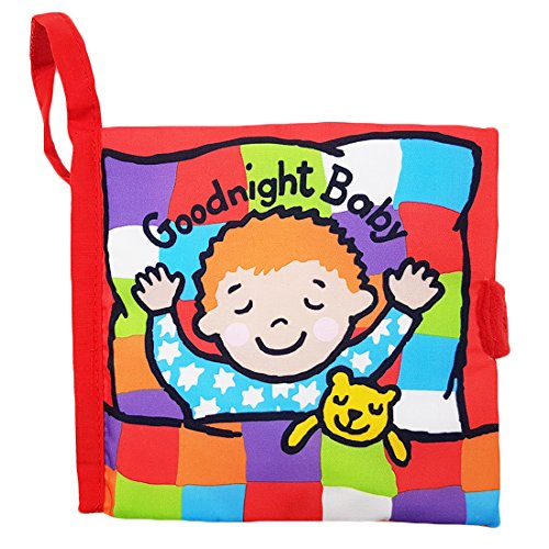 Rolina Baby Soft Cloth Book Bedtime Educational Toys
