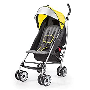 Summer Infant 3Dlite Convenience Stroller, Citrus