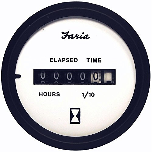 White Hour Meter : Compare price to faria hour meter aniwe