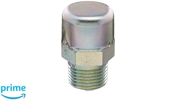 Brennan Industries 7032-08-16 Steel Straight Nipple Conversion Adapter Fitting 1//2-14 Male NPTF x 1-11 Male BSPP