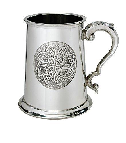 Wentworth Pewter Celtic Circle 1 Pint Pewter tankard ()