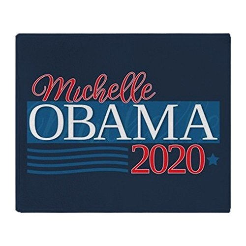 CafePress Michelle Obama 2020 Soft Fleece Throw Blanket, 50