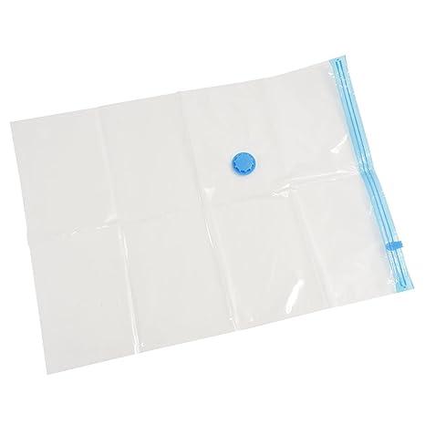 SODIAL(R) 10 paquetes de 70x50 Vacio Comprimido Almacenamiento Almacenamiento de ropa Space Saver Seal Bolsas