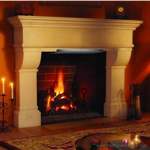 Copperfield Chimney Supply HomeSaver Mantel Shield