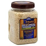 Rice Select Organic Texmati White Rice In Jar, 36-Ounce (Pack of 2)