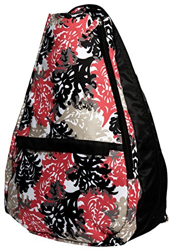 Glove It Women's Tennis Backpack Tennis Gear Bags for Women - Ladies Tennis Racket Backpacks - Tennis Bag for Tennis Balls, Racquet, Water Bottle, Clothing - 2018 Coral Reef