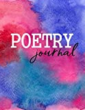 Poetry Journal: Lined Poem Notebook
