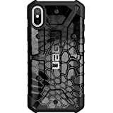 Limited Edition - Customized Designs by Ego Tactical Over a UAG- Urban Armor Gear Case for Apple iPhone X/Xs (5.8'')- Black Kryptek Typhon Camouflage