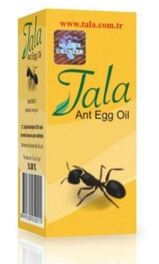 Tala - Loción Depiladora Tala Ant Egg Oil para la Reducción y Eliminación Permanente del Vello