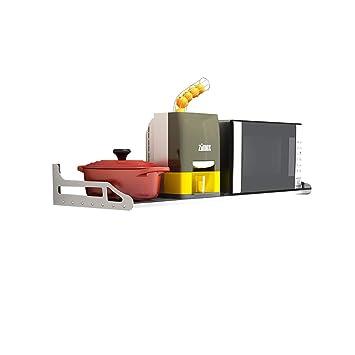 SMBYLL Rack de Cocina de Acero Inoxidable montado en la Pared sazón Estante de Almacenamiento de