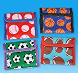 4.75'' SPORTS BALL WALLET, Case of 288