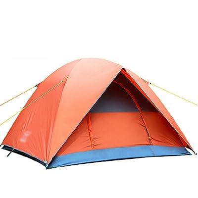 MAZHONG Tentes Tente extérieure 3-4 personnes Tente de protection contre le soleil