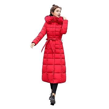 Mujer y Niña abrigo otoño fashion fiesta,Sonnena ❤ Abrigo de piel con capucha Abrigos largos de algodón chaquetas de bolsillo: Amazon.es: Hogar
