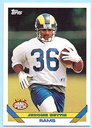 Jerome Bettis 1993 Topps Series 2 Rookie 604 St Louis