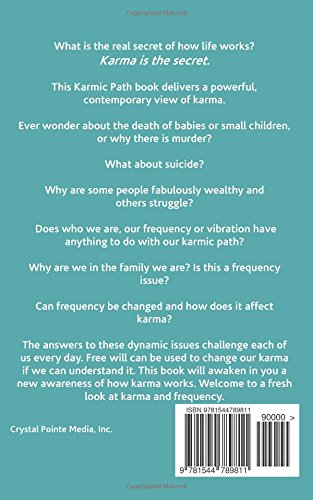 Amazon karma and frequency the karmic path volume 1 amazon karma and frequency the karmic path volume 1 9781544789811 tina erwin books fandeluxe Gallery