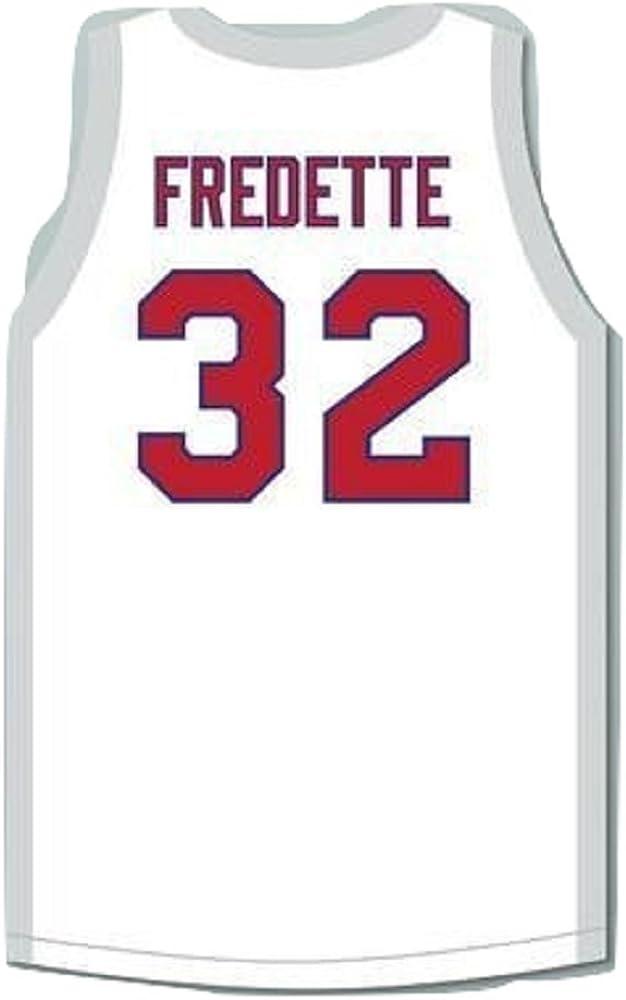 borizcustoms Jimmer Fredette 32 Shanghai Sharks White Basketball Jersey with CBA /& Sharks Patch Novelty Item