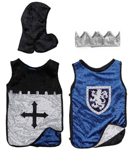 Creative Education Reversible King Knight Set, Black/Blue]()