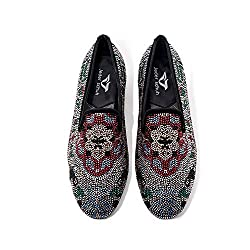 Flat Slip-on With Crystal Rhinestone