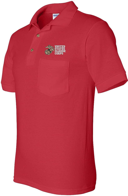 United States Marine Corps Pocket Polo