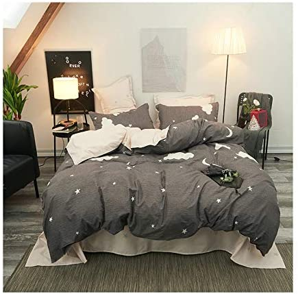Amazon.com: KFZ Cactus Rainbow Printed Bed Set Duvet Cover Without
