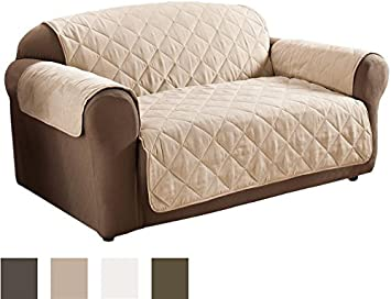 Lovely Innovative Textile Suede Sofa Furniture Protector, Natural