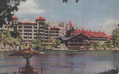 Lake Mohonk Mountain House, Mohonk Lake, N.Y., Picture Postcard, Sent Sept. 20, 1947 to Short Hills, New Jersey